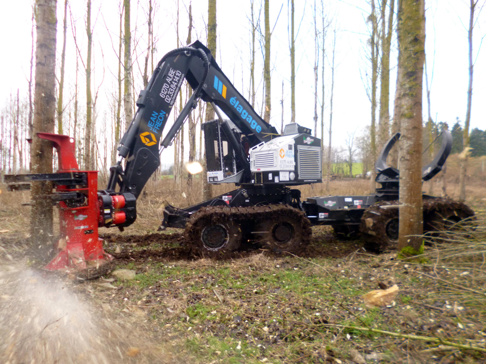 TimberPro Abattage